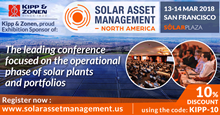 Solar Asset Management North America 2018活动图片